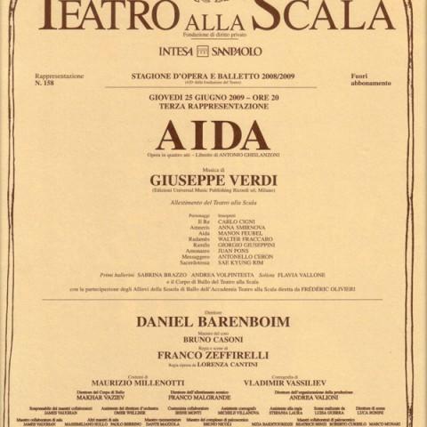 Aïda – Teatro alla Scala
