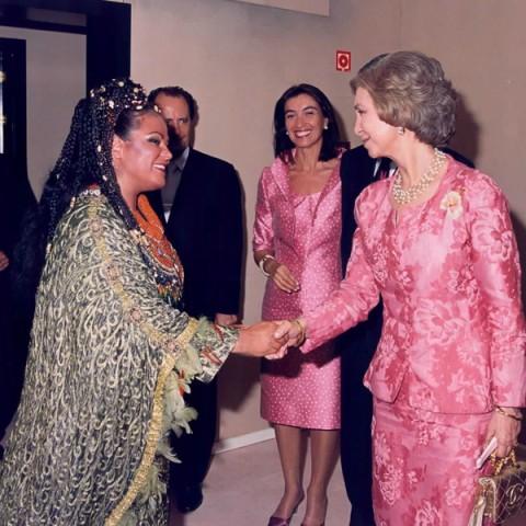 Aïda avec Reine Sofia, SANTANDER